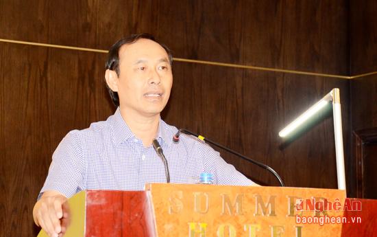 Thứ trưởng Lê Đình Thọ phát biểu tại hội thảo