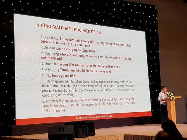 Ông Lê Quốc Cường, Phó giám đốc Sở TT-TT TPHCM